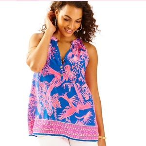 Lilly Pulitzer Bailey Top Size Medium NWT